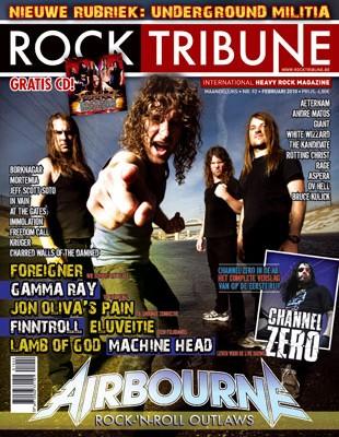 Coverstory voor Rock Tribune: Airbourne