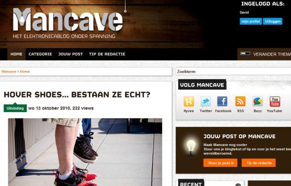 Mancave, het weblog van Conrad Electronic