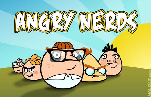 Gave bedrijfsnaam: Angry Nerds