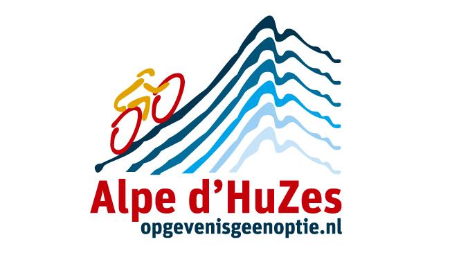 Hardcopy sponsort Ramona op de Alpe d'HuZes
