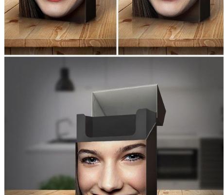 Geweldig gevisualiseerd wat roken met je tanden doet