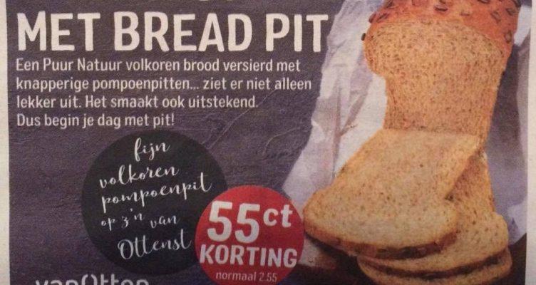 Oké, ik moest gniffelen om Bread Pit
