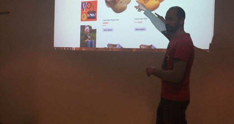 Live site review op WordPress Meetup Nijmegen