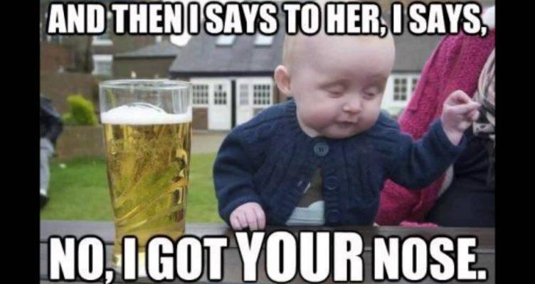 Maandagmorgenhumor: dronken humor