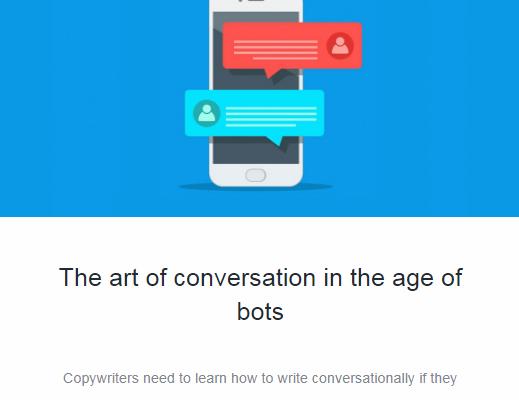 Hoe schrijf je copy voor chatbots?