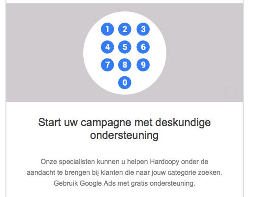 Google, zal ik jou anders helpen met je business?