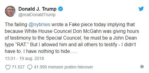 Trumptaal = maffiataal?